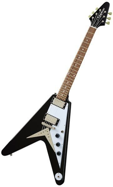 Flying V guitare métal