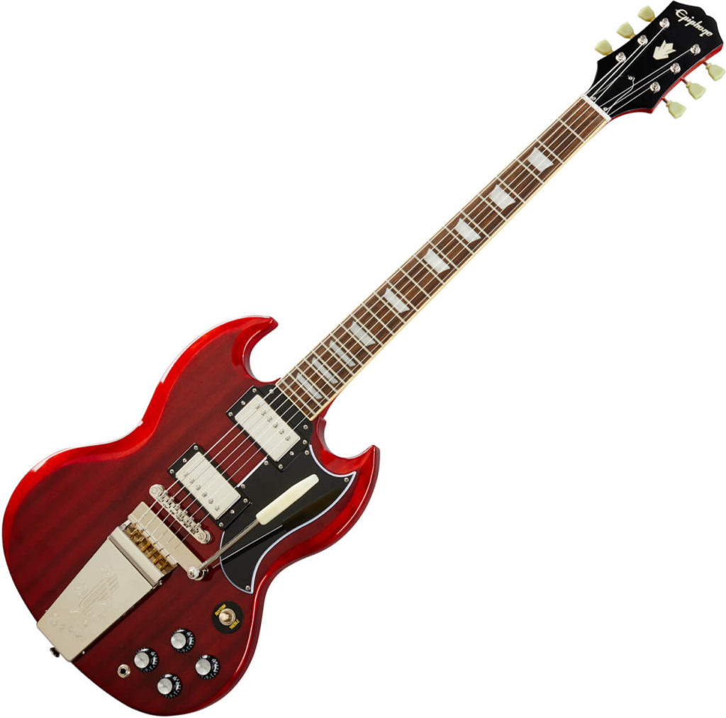 Guitare SG Epiphone cherry